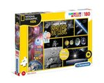 puzzle edukacyjne: Puzzle 180 Supercolor National Geographic Kids – gra