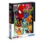 gry i puzzle: Puzzle 1000 Marvel 80 Years – gra