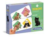 gry logiczne: Domino puppies – gra