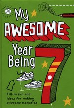 My Awesome Year Being 7 – książka