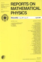 Reports on Mathematical Physics 63/2 2009 – książka