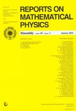 Reports on Mathematical Physics 65/1 2010 Kraj – książka