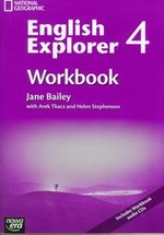 English Explorer 4 Workbook with CD – książka
