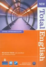 New Total English Upper-Intermediate Student's Book with CD – książka