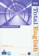 New Total English Upper-Intermediate Workbook with CD – książka