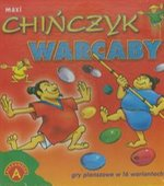 gry i puzzle: Chińczyk Warcaby maxi – gra