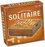 gry logiczne: Wooden Classic Solitaire – gra
