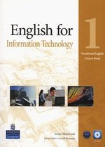 English for information technology 1 Course Book + CD – książka
