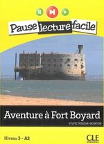 Aventure à Fort Boyard + CD audio – książka