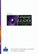 Language Leader Advanced Coursebook + CD – książka