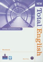 New Total English Upper-Intermedia Workbook z płytą CD – książka