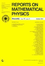 Reports on Mathematical Physics 72/2 – książka