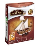 puzzle 3D: Puzzle 3D Yacht Mary – gra