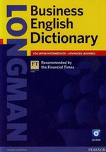 Longman Business English Dictionary for upper intermediate advanced learners + CD – książka