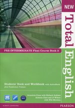 New Total English Pre-Intermediate Flexi Course Book 2 z płytą CD – książka