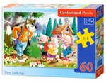 Puzzle Three Little Pigs 60 – gra