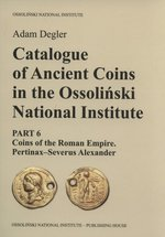 informatory, spisy: Catalogue of Ancient Coins in the Ossoliński National Institute – książka