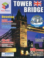 Puzzle 3D Budowle Empire state Tower Bridge 41 – gra