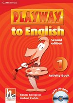 Playway to English  1 Activity Book + CD – książka