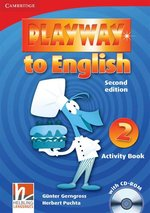 Playway to English 2 Activity Book + CD – książka