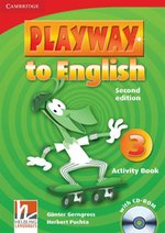 Playway to English 3 Activity Book with CD-ROM – książka