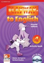 Playway to English 4 Activity Book + CD – książka