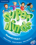 Super Minds 1 Student's Book with DVD-ROM – książka