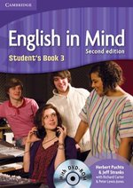 English in Mind 3 Student's Book with DVD-ROM – książka