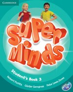 Super Minds 3 Student's Book with DVD-ROM – książka