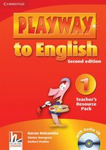 Playway to English 1 Teacher's Resource Pack + CD – książka