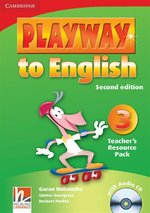 Playway to English 3 Teacher's Resource with CD – książka