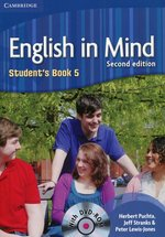 English in Mind 5 Student's Book + DVD-ROM – książka