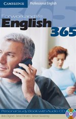 English365 Personal Study Book 1 with Audio CD – książka