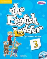 The English Ladder 3 Activity Book with Songs Audio CD – książka