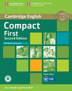 Compact First Workbook with Answers – książka