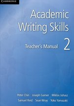 Academic Writing Skills 2 Teacher's Manual – książka