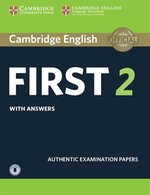 Cambridge English First 2 Student's Book with Answers and Audio – książka