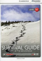 Survival Guide Lost in The Mountains Book with Online Access – książka