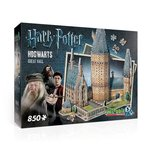 Wrebbit 3D puzzle Harry Potter Hogwarts Great Hall - 850 elementów – gra