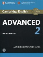 Cambridge English Advanced 2 Student's Book with answers and Audio – książka