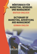 Dictionary of Marketing Advertising and Management German-English – książka