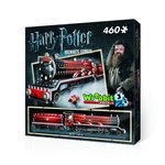 Puzzle 3D Wrebbit Harry Potter Hogwarts Express 460 – gra