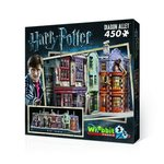 Puzzle 3d Wrebbit Harry Potter Diagon Alley 450 – gra