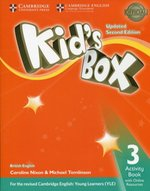 Kid's Box 3 Activity Book with Online Resources – książka