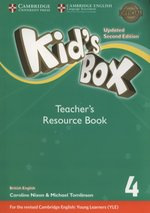 Kid's Box 4 Teacher's Resource Book – książka