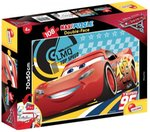 Puzzle dwustronne maxi 108 Auta 3 Cars on fire – gra