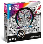 Puzzle 500 Colour Therapy Sowa – gra