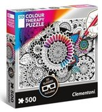 puzzle 3D: Puzzle 3D Colour Therapy Kwiaty – gra