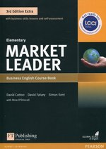 Market Leader Elementary Business English Course Book + DVD-ROM – książka