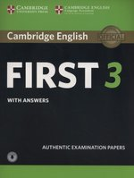 Cambridge English First 3 Student's Book with Answers with Audio – książka